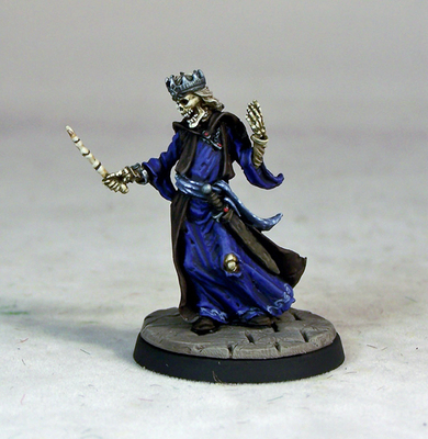 UD11b – Lich with Wand - Otherworld Miniatures