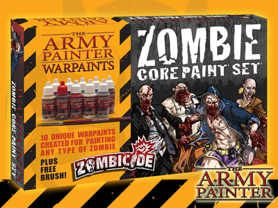 Zombie Core Paint Set - Zombicide - Army Painter Warpaints