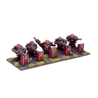 Dwarf Sharpshooters - Dwarfs - Kings of War - Mantic Games