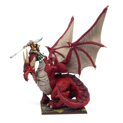 Elf Dragon Kindred Lord - Elves - Kings of War - Mantic Games