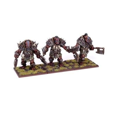 Ogre Berserker Braves - Oger - Kings of War - Mantic Games