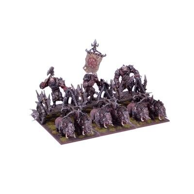 Ogre Chariot Regiment - Oger - Kings of War - Mantic Games