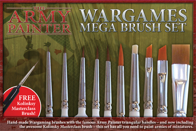 Mega Brush Set - Army Painter Pinsel