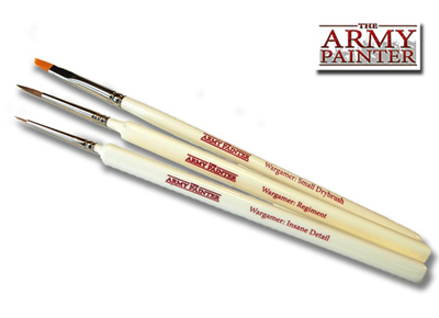 Wargamers Most Wanted Brush Set - Army Painter Pinsel