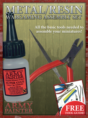 Metal/Resin assembly set - Army Painter Tools