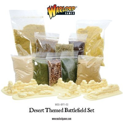 Desert Themed Battlefield Set - Warlord Games