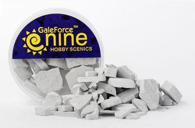 Hobby Round: Concrete Rubble Mix - Gale Force 9