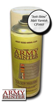Anti Shine Matt Varnish - Army Painter Lack