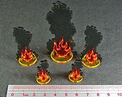 Flaming Wreckage Variety Set - Litko