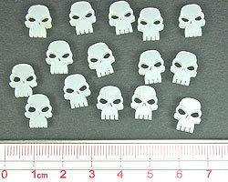 Mini Skull Tokens - Litko