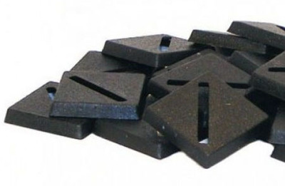 20mm Square Bases - (40 Stk.) - Kingsley