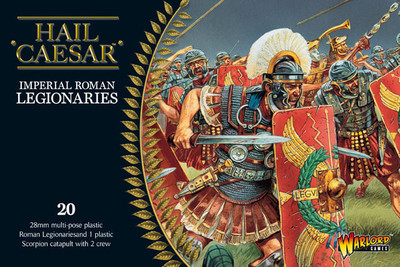 Early Imperial Romans: Legionaries and Scorpion boxed set - Hail Caesar - Warlord Games