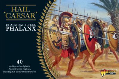 Classical Greek Phalanx Griechen - Hail Caesar - Warlord Games