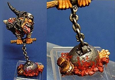 Goblin Fanatic 2 - Gamezone Miniatures