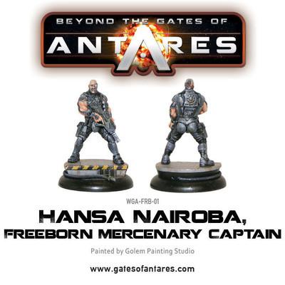 Hansa Nairoba & Bovan Tuk, Mercenary Captains - Beyond The Gates Of Antares