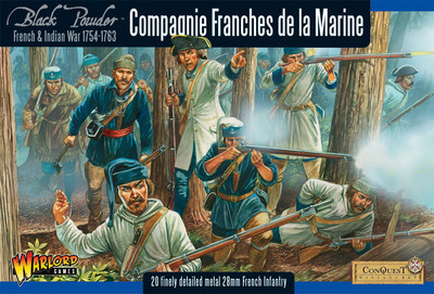 Compagnie Franches de la Marine - Black Powder - Warlord Games