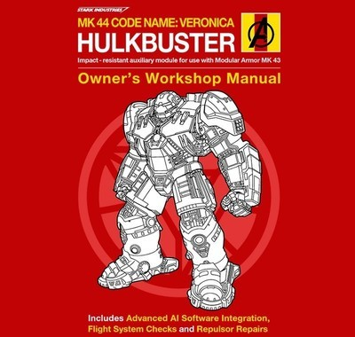 Hulkbuster Manual - Ladies - M - Shirt