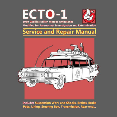 Ecto 1 Service and Repair Manual - Ladies - S - Shirt