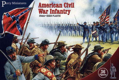 American Civil War Infantry - Perry Miniatures
