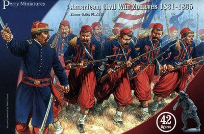 American Civil War Zouaves  - Perry Miniatures