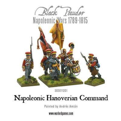 Napoleonic Hanoverian Command - Black Powder - Warlord Games