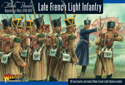 French Light Infantry (Waterloo) - Black Powder - Warlord Games