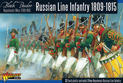 Early Russian Infantry (1809-1815) - Black Powder - Warlord Games