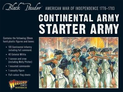 Continental Army starter set - American War of Independence - Warlord Games