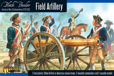Field Artillery and Army Commanders - American War of Independence - Warlord Games