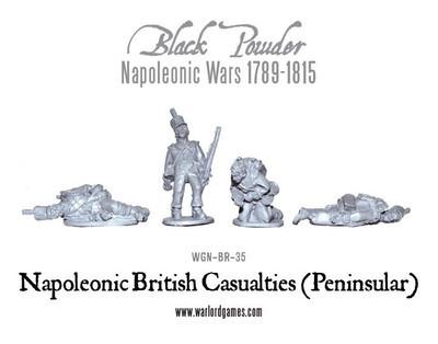 British Casualties (Peninsular) - Black Powder - Warlord Games