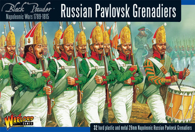 Russian Pavlovsk Grenadiers - Black Powder - Warlord Games