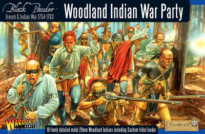 Woodland Indian War Party - Black Powder - Warlord Games