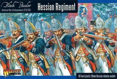 Hessian regiment - American War of Independence - Warlord Games