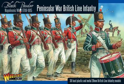 British Line Infantry (Peninsular) - Black Powder - Warlord Games