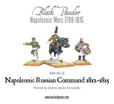 Russian Command (1812-1815) - Black Powder - Warlord Games