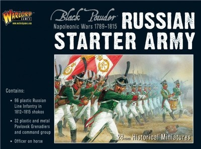 Russian Starter Army - Black Powder - Warlord Games