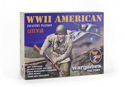US Infantry - World War 2 - Wargames Factory