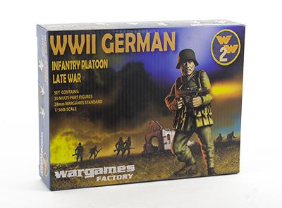 WWII German Infantry Platoon - World War 2 - Wargames Factory