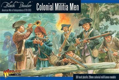 Colonial Militia Men - American War of Independence - Warlord Games
