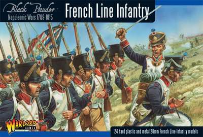 French Line Infantry 1789-1815 (Waterloo) - Black Powder - Warlord Games