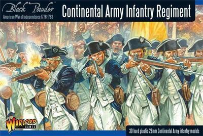 Continental Infantry Regiment - American War of Independence - Warlord Games