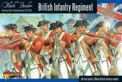British Infantry Regiment - American War of Independence - Warlord Games