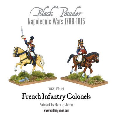 Mounted French Colonels - Black Powder - Warlord Games