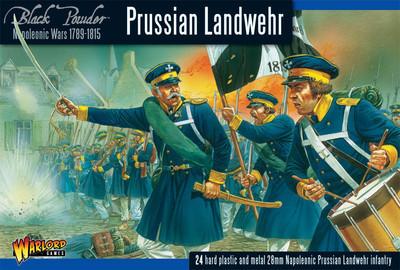 Prussian Landwehr - Black Powder - Warlord Games
