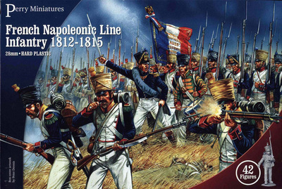 French Napoleonic Line Infantry 1812-1815 - Perry Miniatures
