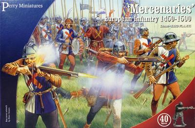Mercenaries' European Infantry 1450-1500 - Perry Miniatures