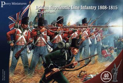 British Napoleonic Line Infantry 1808-1815 - Perry Miniatures