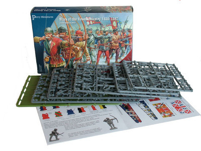 Wars Of The Roses Infantry 1455-1487 - Perry Miniatures