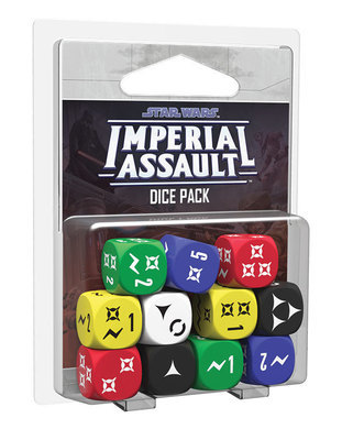 Star Wars: Imperial Assault - Dice Pack - Würfelset