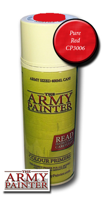 Pure Red - Army Painter Colour Primers